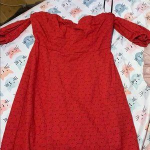 Short Red Forever 21 Dress
